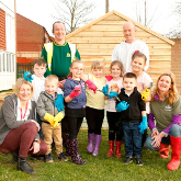 Golding Homes Community Garden project launch
