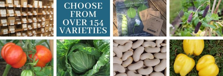 Heritage Seed Library is open