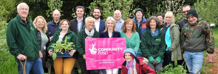 Liz Truss visits Garden Organic organic growing project in Norfolk